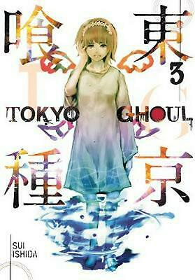 Tokyo Ghoul, Volume 3 by Sui Ishida (English) Paperback Book Free Shipping!
