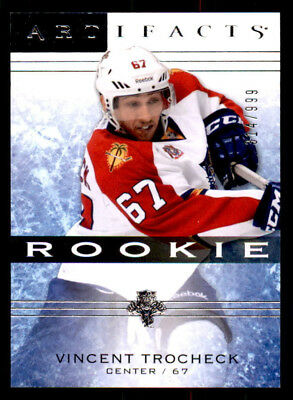2014-15 Artifacts #150 Vincent Trocheck Panthers Rookie #/999 (ref 34011)