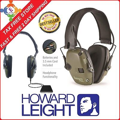Electronic Noise Cancelling Shooting Protection Sport Ear Muffs Head Gear Impact