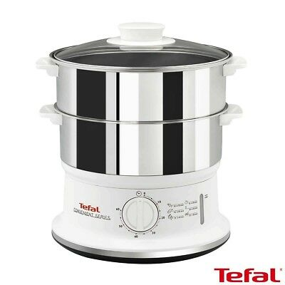 Tefal Convenient Series Stainless Steel Steamer VC145140
