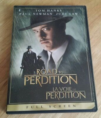 Road to Perdition DVD FULL SCREEN Tom Hanks Jude Law Paul Newman