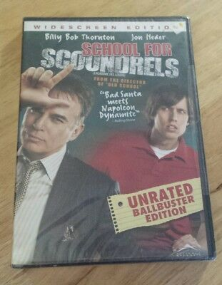 School for Scoundrels (DVD, 2007, Unrated Widescreen)...Brand New Sealed