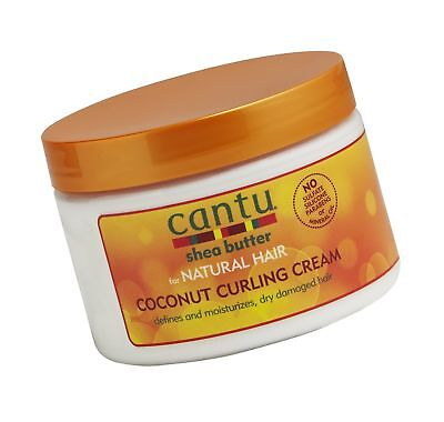 Cantu Shea Butter for Natural Hair Coconut Curling Cream 12 oz. 12 Ounce