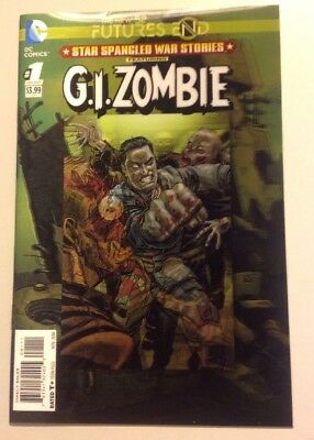 FUTURES END NEW 52 Star Spangled War Stories G.I. Zombie #1 3D Lenticular Cover
