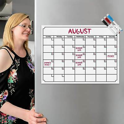 Monthly Magnetic Calendar for Refrigerator Sticker Magnetic Board Planner Magnet