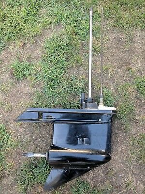 """Johnson Evinrude Lower Unit V6 150 175 HP 25"""" COUNTER ROTATION SEI ONLY 6 HOURS"""