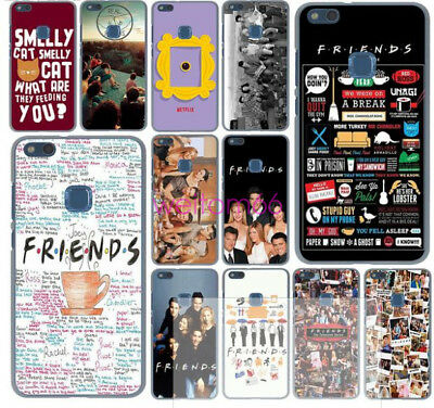 Funny Friends TV Silicone Case For Huawei Mate20 P20 P10 P9 P8 Honor 10 9 8 Lite