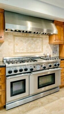 Thermador Professional 6-Burner Stove w/ Griddle & Double Oven