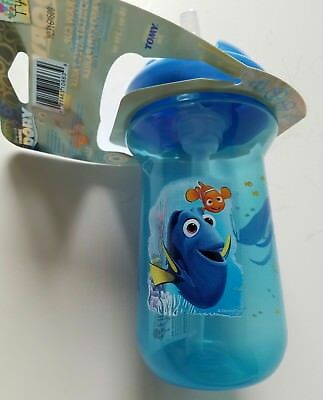 The First Years Disney Pixar Straw Sippy Cup Finding Dory 10 oz New 18+ Months