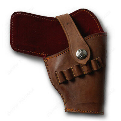 Original Surplus Item Chinese PLA Type 54 Holster Brown Leather