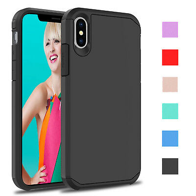 For Apple iPhone Xs/Xs Max/XR 2018 Shockproof Hybrid Hard Armor Phone Case Cover