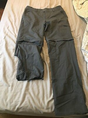 Columbia Womens Hiking Zip Off Pants