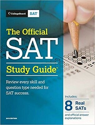 The Official SAT Study Guide, 2018 Edition by College Board (Paperback)