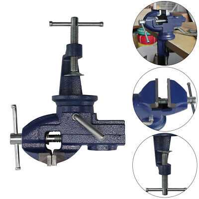 Engineers Vice Vise Swivel Base Workshop Clamp Jaw Work Bench Table Vices