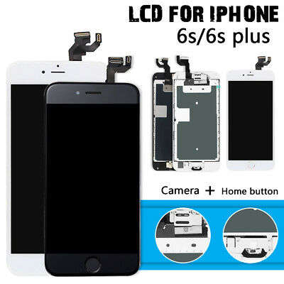 For iPhone 6s 6s Plus LCD Full Replacement Touch Screen Digitizer+Button+Camera