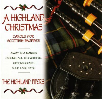 A Highland Christmas by The Highland Bagpipes  (Audio CD)