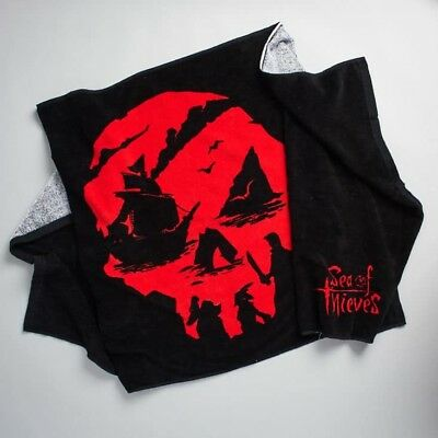 Exclusive Sea of Thieves Themed Beach Towel Loot Gaming Crate DX Pirate Xbox One