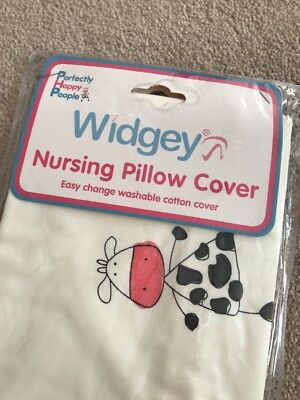 Widgey Nursing Pillow Cover New In Case Giraffe Never Used Spare