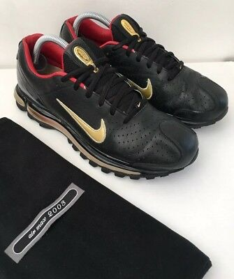 NIKE air max 2003 Vintage rare Black Leather