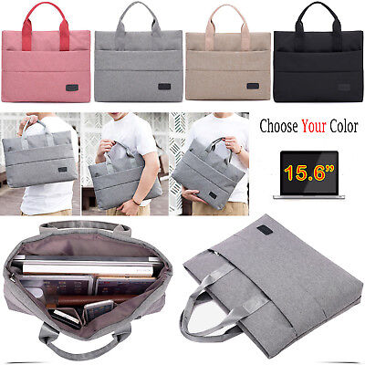 15.6'' Inch Multi Pocket Laptop Carrying Case Bag For Notebook Mobile Tablet PC