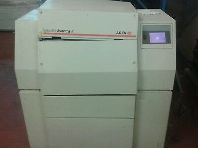 Various parts for Agfa SelectSet Avantra  20/25