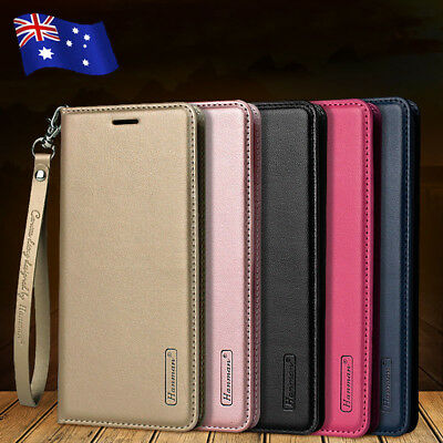 For Samsung S10 S9 S8 S10e Note 9/8 Magnetic Flip Leather Wallet Card Case Cover