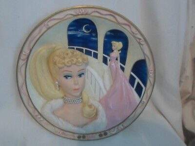 The Bradford Exchange Barbie Enchanted Evening Forever Glamorous 4117A Plate