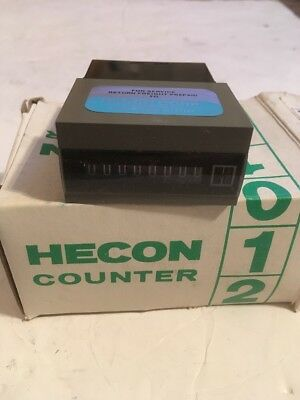 Hecon G0 468-189 W8D Digit, 110V, Totalizing Counter(cellar)