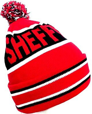 Sheffield United Hat Pom Pom Bobble Football Gifts
