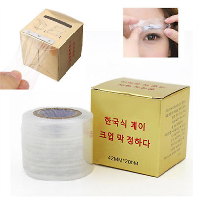 Microblading Plastic Wrap Preservative Film for Permanent Makeup Tattoo Eyebrow