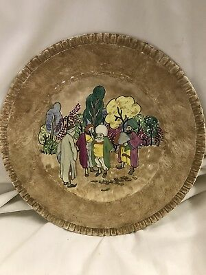 George Jones Plate Painted By Doris Parton 1935