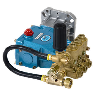 """Cat Pumps Pressure Washer """"SLP66DX40GG1""""  4.0 GPM 4000 PSI 1""""  Fully Plumbed"""