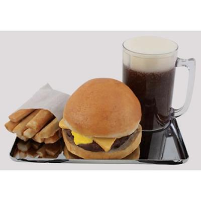 Hotdog Style Drive-In Chrome Tray-Classic 50s Look