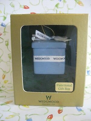 Wedgwood Blue Gift Box or Ornament MIB