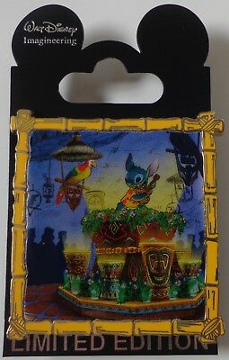 Disney Wdi Puntada Presents'' Aloha E Komo Mai '' Pin Enchanted Tiki Room Le 300