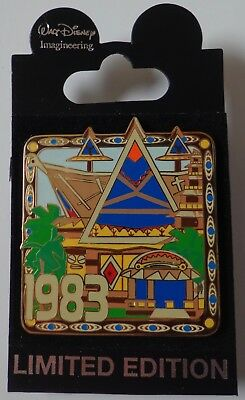 Disney Pin Wdi Virtual Magic Kingdom Enchanted Tiki Room 1983 Le 300
