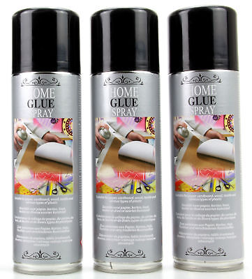Colle bombe aérosol en spray permanent 300 ml Home à Pulvériser Transparente