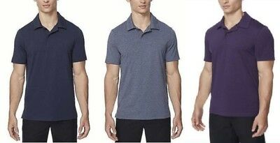 4f38c3d6 32 Degrees Cool Mens Moisture Wicking Performance Polo, Pick Size and  Color, NWT