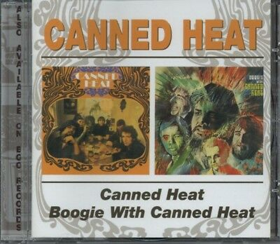 Canned Heat - Canned Heat, Boogie With CD