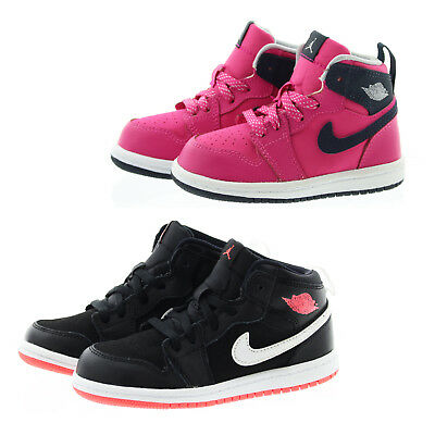 aef5bb4c77365 NIKE 705324 TODDLER Child Air Jordan 1 Retro High GT Athletic Basketball  Shoes