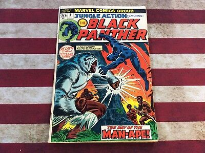 Jungle Action #5 (July 1973, Marvel) 1st Black Panther Solo! Please See Pics!