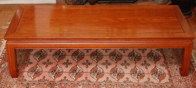 Mid-Century Chinese Coffee Table, Traditional Form, Rosewood