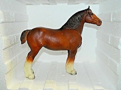 VINTAGE BREYER MOLDING CO. U.S.A. CLYDESDALE 11 x 9
