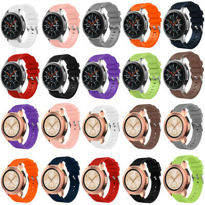 Classic Sports Silicone Bracelet Strap Band For Samsung Galaxy Watch 46mm/42mm