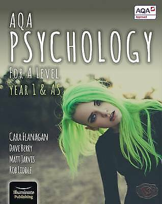 Aqa Psychology for a Level Year 1 & As - Student Book, Paperback by Liddle, R...
