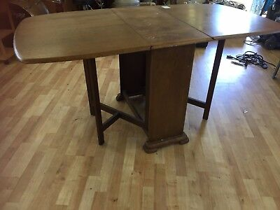 Stunning antique drop leaf table