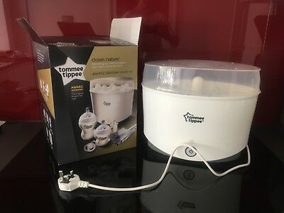 Tommie Tippie electric steam steriliser... Used only to test functionality.