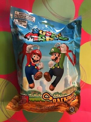 Official Super Mario Mystery Backpack Buddies Clip Blind Bag  Fill