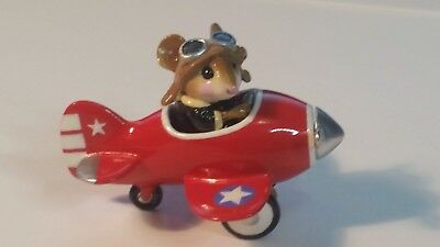 Wee Forest Folk  M-309 RED pedal plane  Air Force