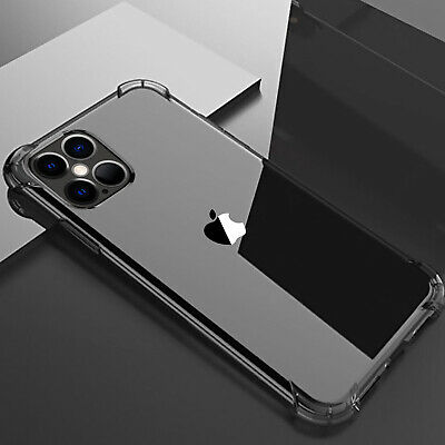 For iPhone 11 Pro Max XS Max XR 8 7 Plus X Clear Slim Hard Shockproof Case Cover
